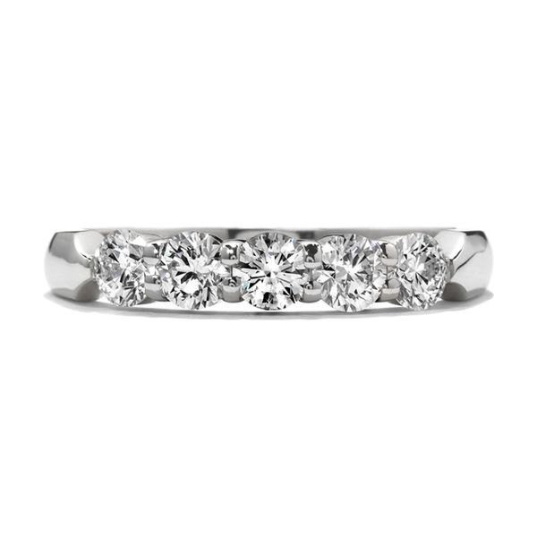 Hearts On Fire 5 Stone Diamond Band Confer's Jewelers Bellefonte, PA
