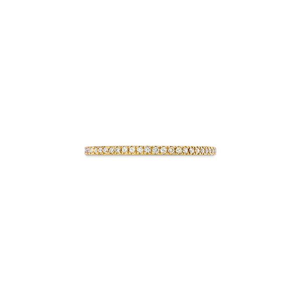 Hearts On Fire 18k Yellow Gold Classic Eternity Band Confer's Jewelers Bellefonte, PA