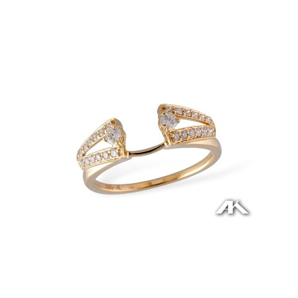 14K Yellow Gold Diamond Ring Wrap Confer's Jewelers Bellefonte, PA