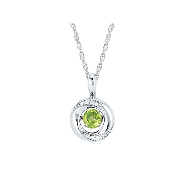 Shimmering Birthstone Pendant Confer's Jewelers Bellefonte, PA