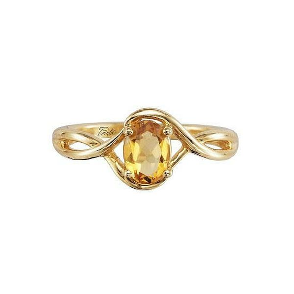 14K Gold Oval Citrine Ring Confer's Jewelers Bellefonte, PA