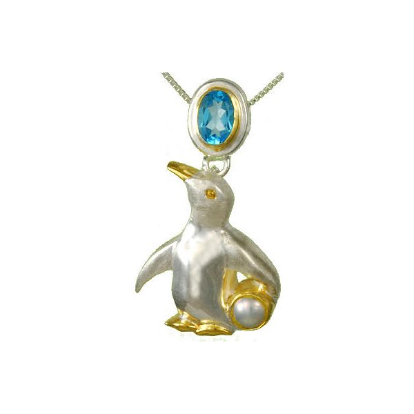 Sterling Silver Penguin Pendant Confer's Jewelers Bellefonte, PA