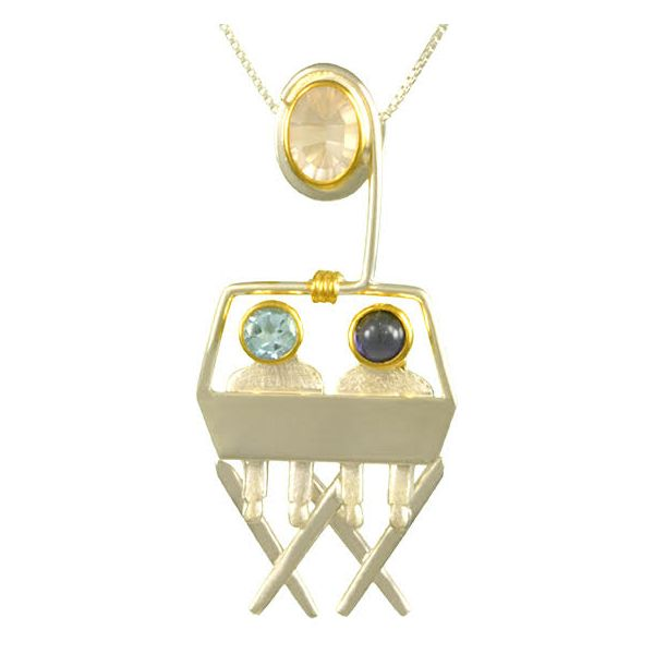 Chair Lift Pendant Confer's Jewelers Bellefonte, PA