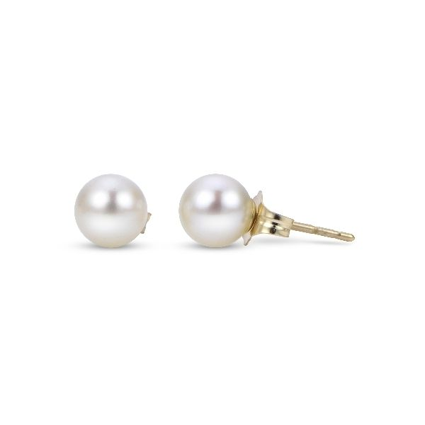 14k Yellow Gold Freshwater Pearl Studs Confer's Jewelers Bellefonte, PA
