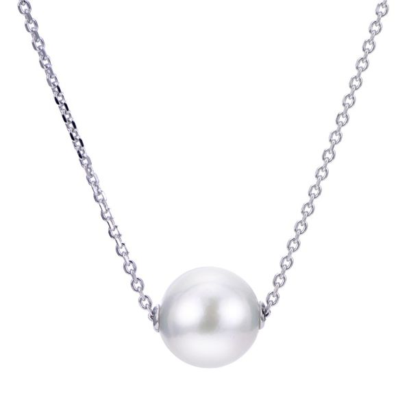 Sterling Silver Sliding Freshwater Pearl Pendant Confer's Jewelers Bellefonte, PA