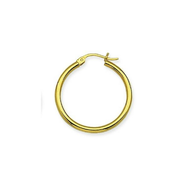 14K Yellow Gold Hoop Earrings Confer's Jewelers Bellefonte, PA