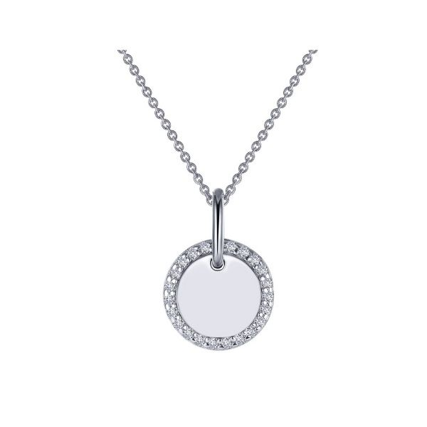 Round Disc Pendant Necklace Confer's Jewelers Bellefonte, PA