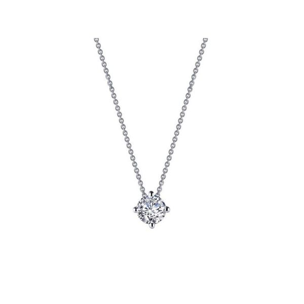 Lafonn 0.9 CTW Solitaire Necklace Confer's Jewelers Bellefonte, PA
