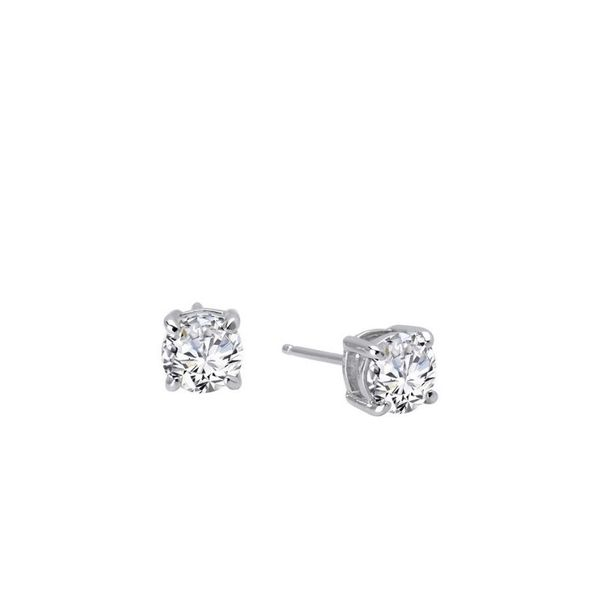 Lafonn 2 CTW Stud Earrings Confer's Jewelers Bellefonte, PA
