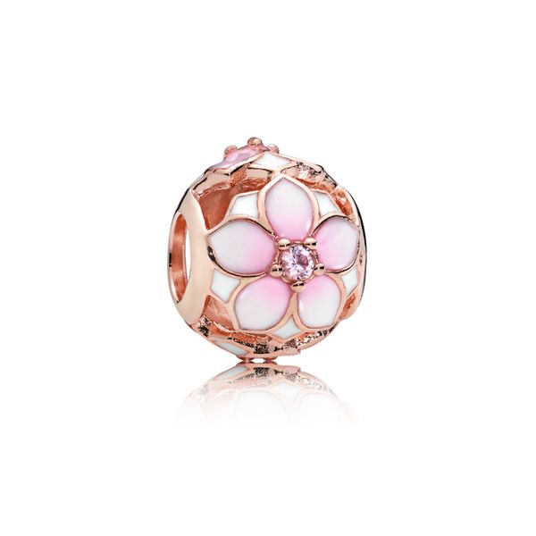 Magnolia Bloom Charm, PANDORA Rose Confer's Jewelers Bellefonte, PA