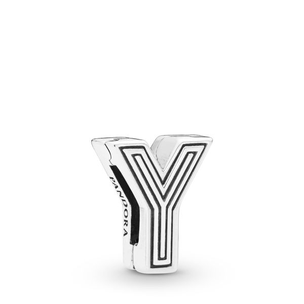 PANDORA REFLEXIONS™ Letter Y Clip Confer's Jewelers Bellefonte, PA