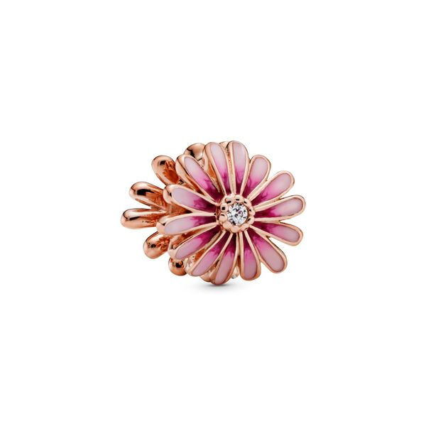 Pink Daisy Flower Charm - Pandora Rose Confer's Jewelers Bellefonte, PA