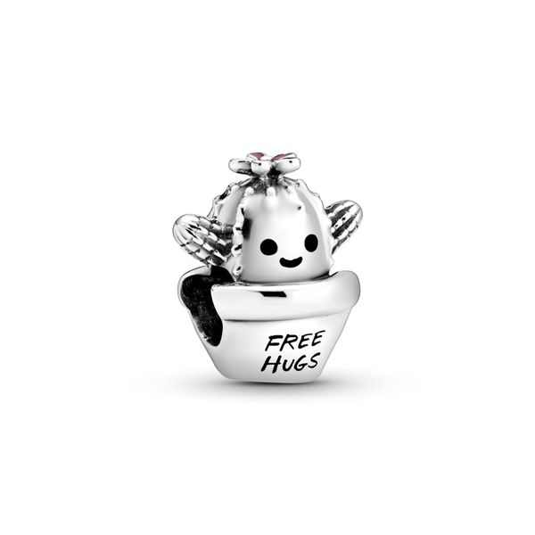 Free Hugs Cactus Charm Confer's Jewelers Bellefonte, PA