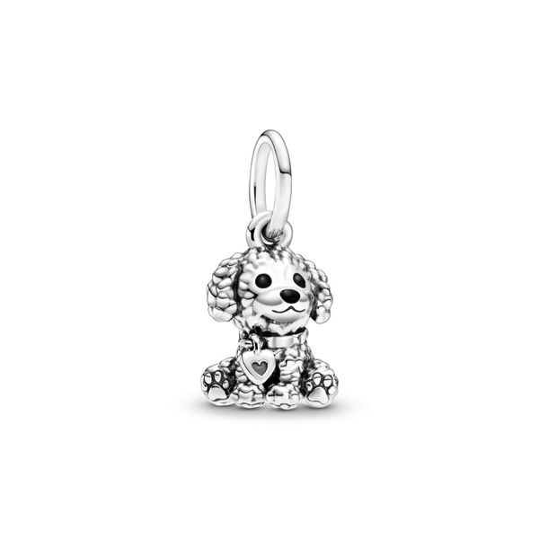 Poodle Puppy Dog Dangle Charm Confer's Jewelers Bellefonte, PA