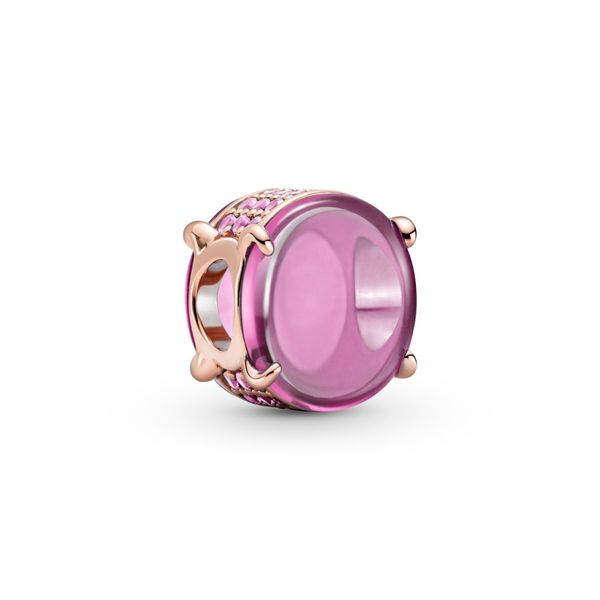 Pink Oval Cabochon Charm - Pandora Rose™ Confer's Jewelers Bellefonte, PA