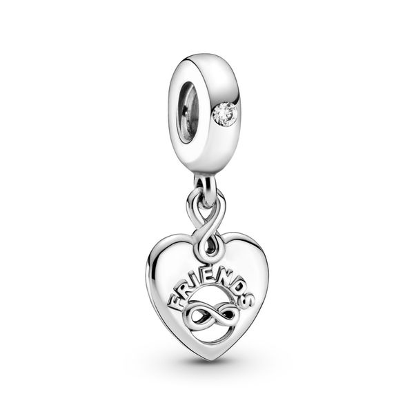 Friends Forever Heart Dangle Charm Confer's Jewelers Bellefonte, PA
