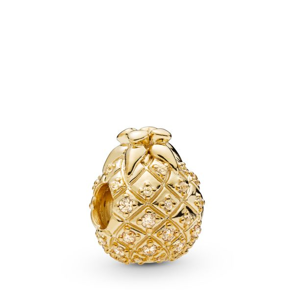 Golden Pineapple Charm - PANDORA SHINE Confer's Jewelers Bellefonte, PA