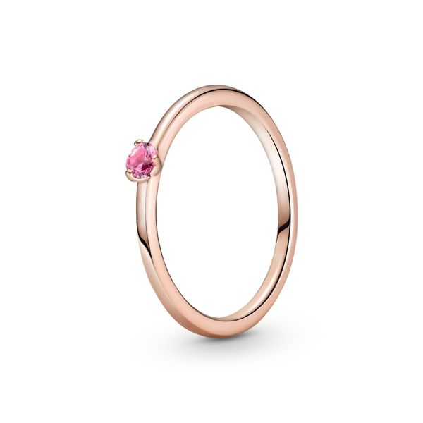 Pink Solitaire Ring - Pandora Rose™ Confer's Jewelers Bellefonte, PA
