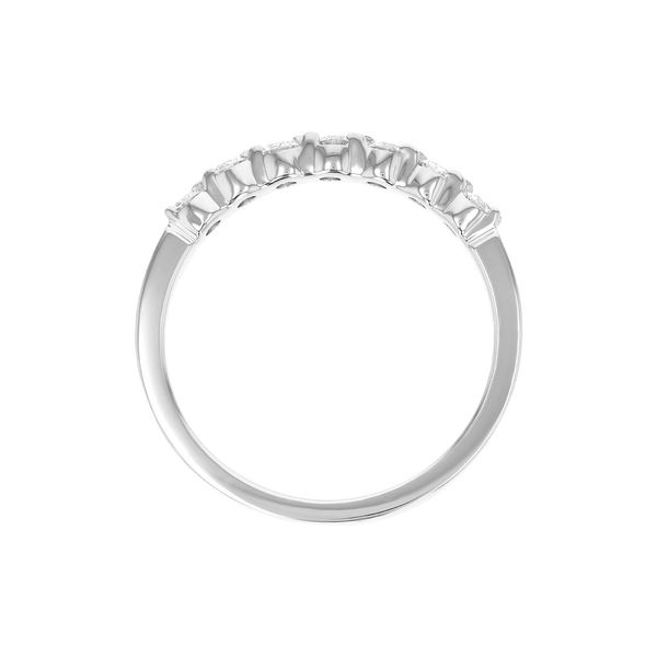 .33 CT. T.W. Diamond Wedding/Anniversary Band in 14K White Gold Image 2 Conti Jewelers Endwell, NY