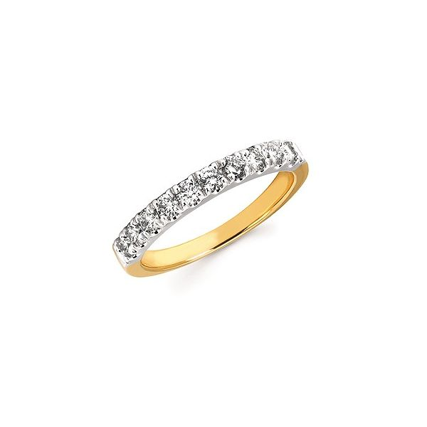 1/2 Ctw. Prong Set Diamond Anniversary Band In 14K Gold Conti Jewelers Endwell, NY