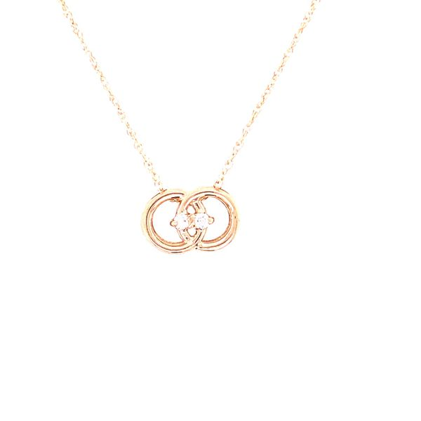 Diamond Marriage Symbol® Pendant In 14K Gold With .05 Ctw. Diamonds Conti Jewelers Endwell, NY
