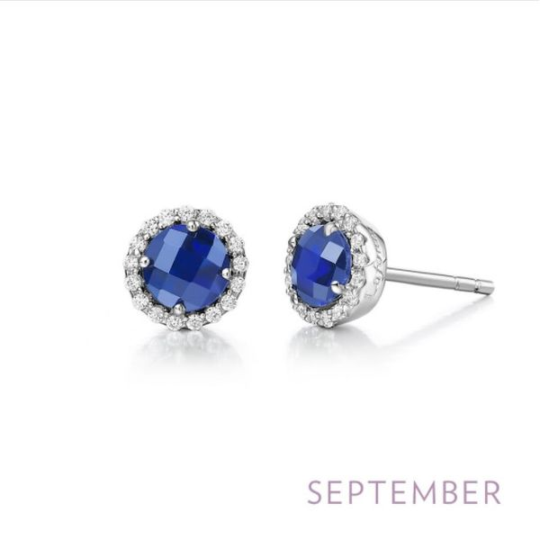 September Birthstone Earrings Conti Jewelers Endwell, NY