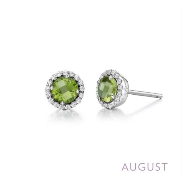 August Birthstone Earrings Conti Jewelers Endwell, NY