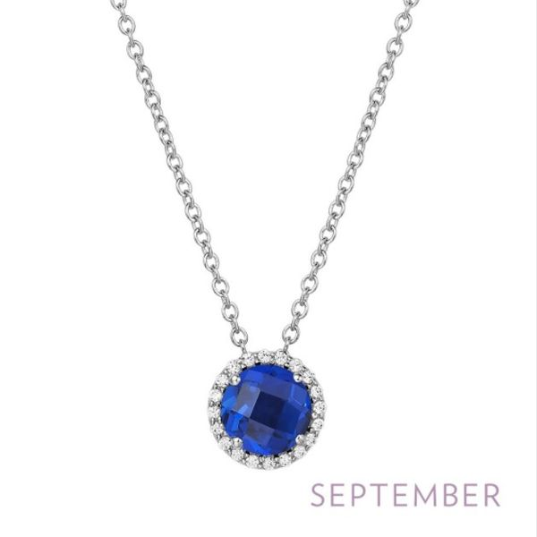 September Birthstone Necklace Conti Jewelers Endwell, NY