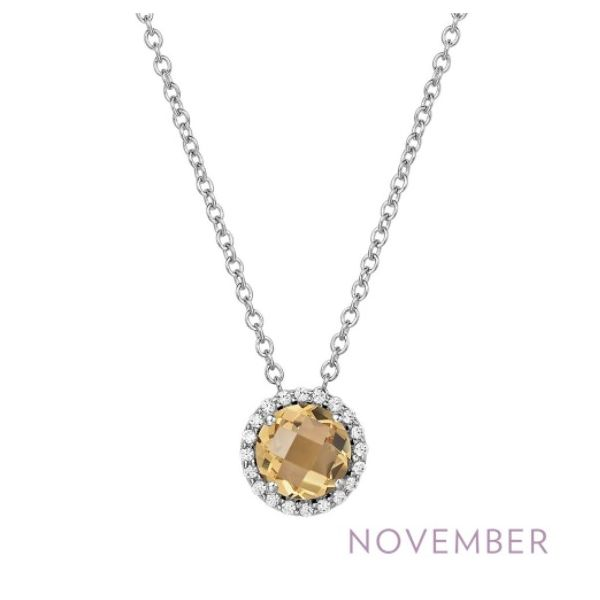 November Birthstone Necklace Conti Jewelers Endwell, NY