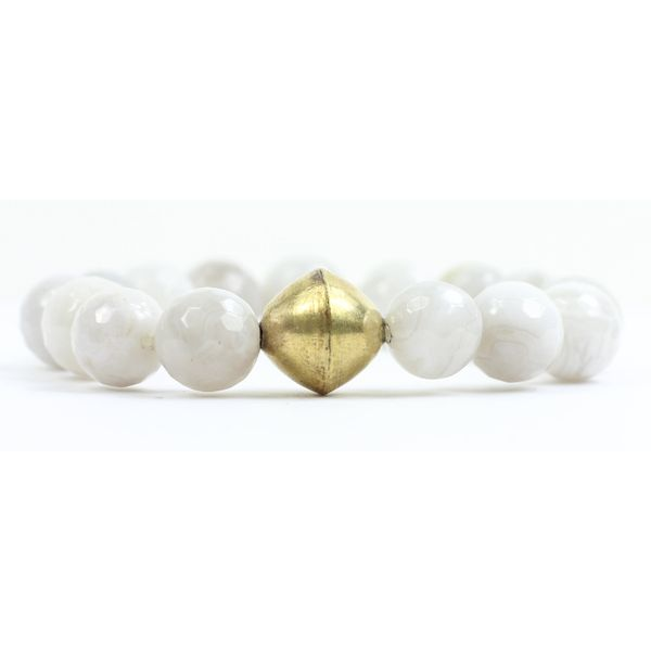 The Kendley G White Bracelet Conti Jewelers Endwell, NY