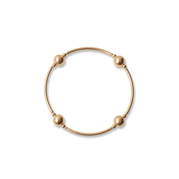 8mm Gold Blessing Bracelet Conti Jewelers Endwell, NY