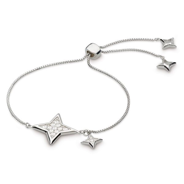 Empire Astoria Starburst Grande CZ Star Toggle Bracelet Conti Jewelers Endwell, NY