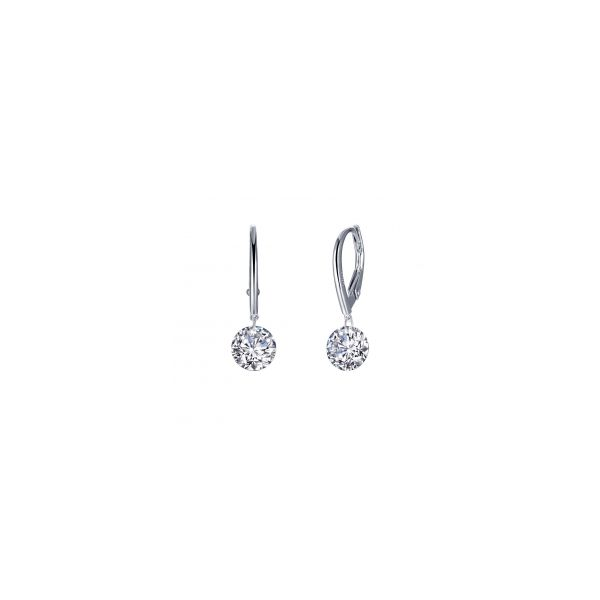 Leverback Frameless Earrings Conti Jewelers Endwell, NY