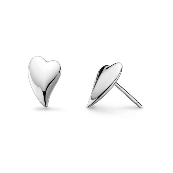 Desire Lust Heart Stud Earrings Conti Jewelers Endwell, NY