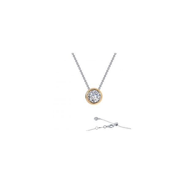 Solitaire Slider Necklace Conti Jewelers Endwell, NY