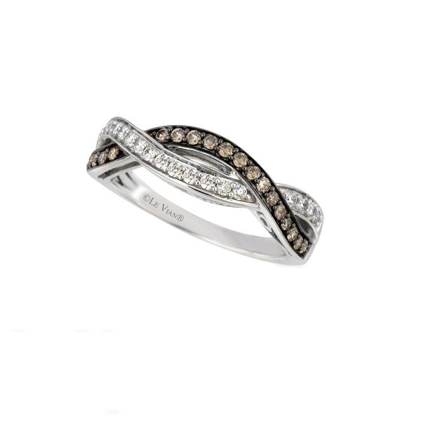 Le Vian Chocolate Diamonds® Ring in 14k Vanilla Gold® Coughlin Jewelers St. Clair, MI