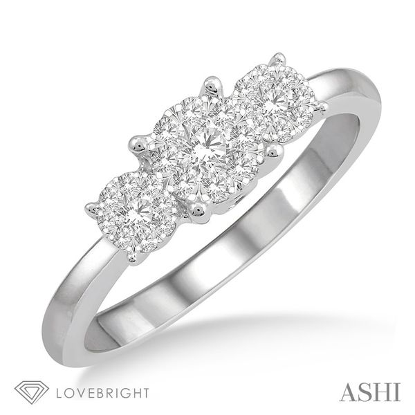 Past Present & Future Lovebright Essential Diamond Ring Coughlin Jewelers St. Clair, MI