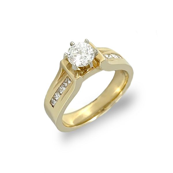 Cathedral Engagement Ring Semi-Mount Coughlin Jewelers St. Clair, MI
