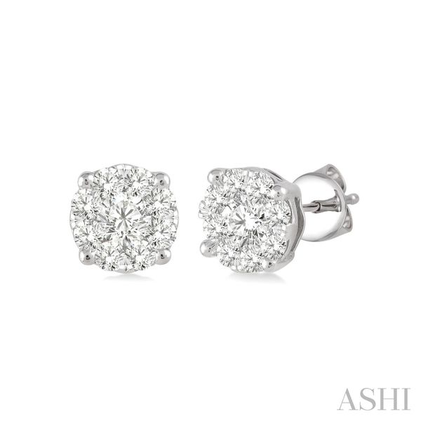 Lovebright Essential Diamond Earrings Coughlin Jewelers St. Clair, MI