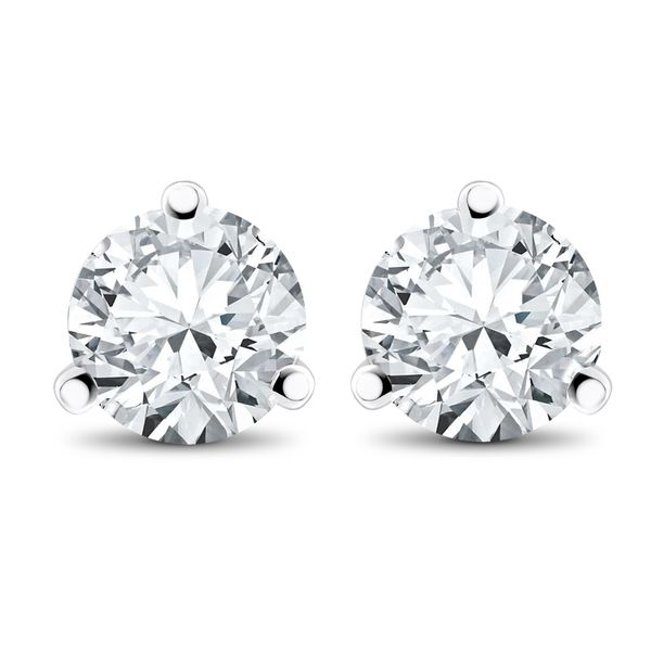 Diamond Stud Earrings - 5/8ctw Coughlin Jewelers St. Clair, MI