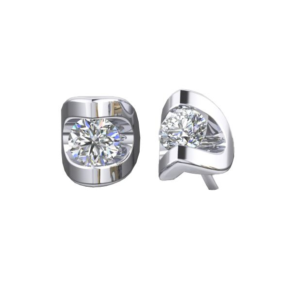 Polar Fire Canadian Diamond Stud Earrings - .10ctw Coughlin Jewelers St. Clair, MI