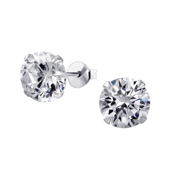 Diamond 4-Prong Stud Earrings - .25ctw Coughlin Jewelers St. Clair, MI