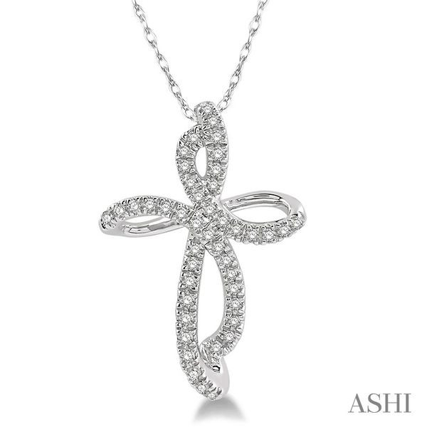 Diamond Cross Pendant Coughlin Jewelers St. Clair, MI