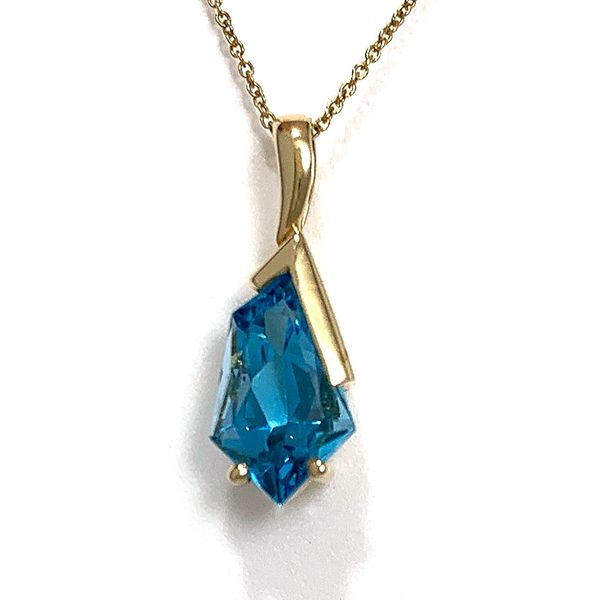 Fancy Cut Topaz Pendant Coughlin Jewelers St. Clair, MI