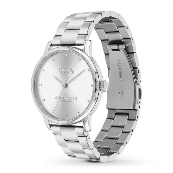 Coach Grand Stainless Steel Watch Image 2 Coughlin Jewelers St. Clair, MI