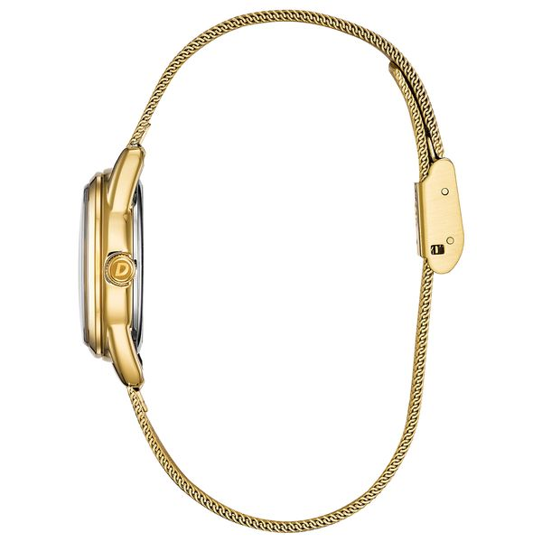 Ladies Gold Tone Drive Bracelet WR Image 2 Coughlin Jewelers St. Clair, MI