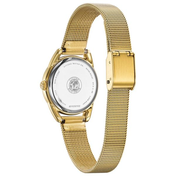 Ladies Gold Tone Drive Bracelet WR Image 3 Coughlin Jewelers St. Clair, MI