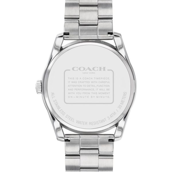 Coach Preston Stainless Steel Watch Image 3 Coughlin Jewelers St. Clair, MI