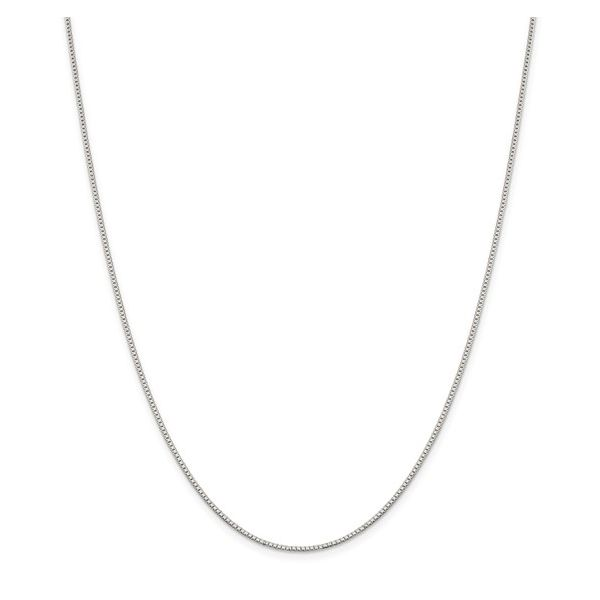 1.1mm Sterling Silver Box Chain - 16-18