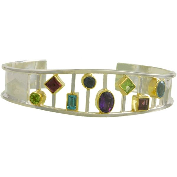 Michou Kaleidoscope Cuff Bracelet Coughlin Jewelers St. Clair, MI